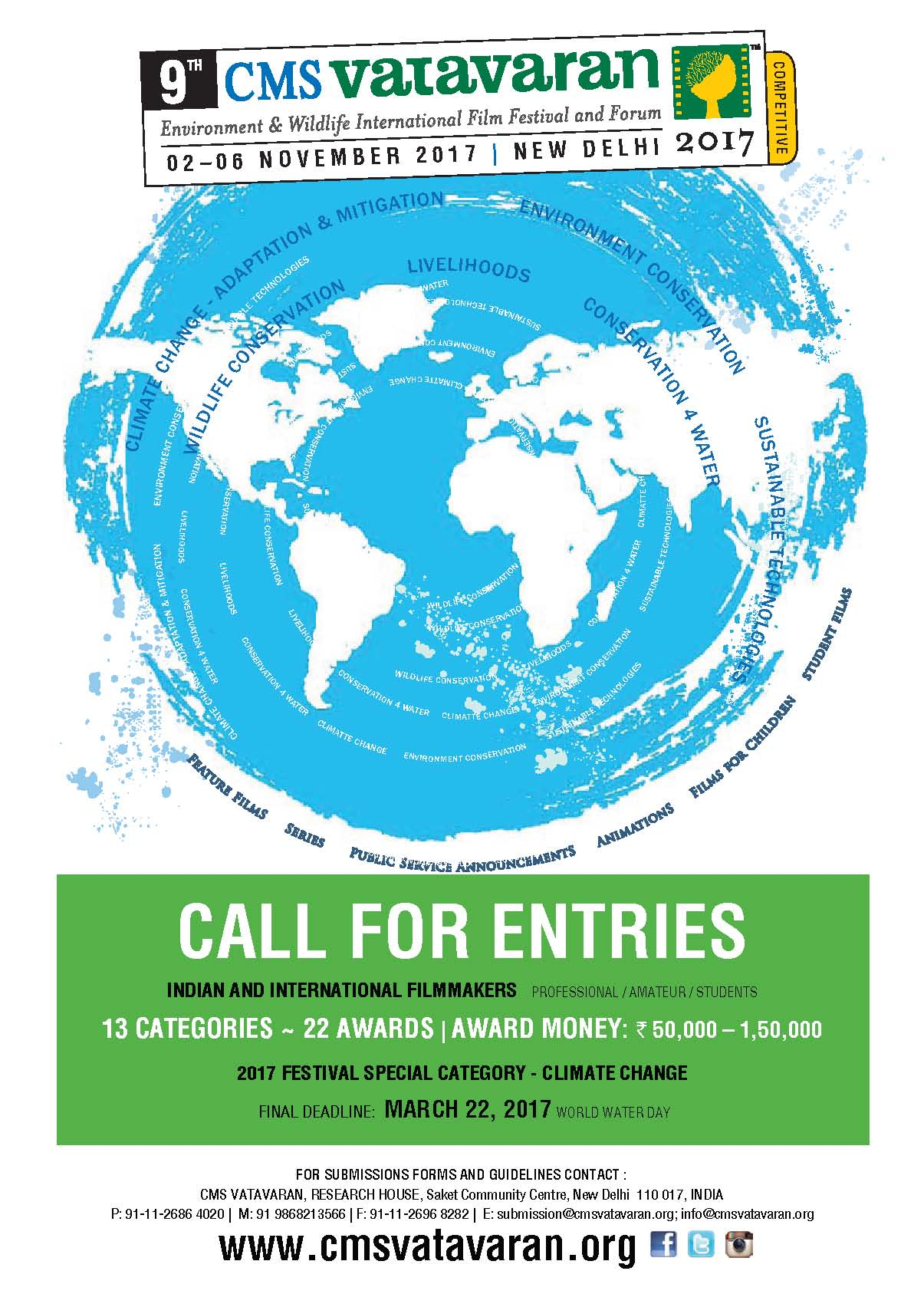 Click here to download Call For Entry Forms and Guidelines